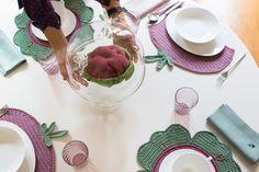 Cinderella + Cavoli a Merenda Fall Collection #Centrotavola Milano  http://www.centrotavolamilano.it/ #centrotavolamilano #handmadeinitaly #americana #placemat #pumkin #napkin #napkinring #linen #pottery #hand