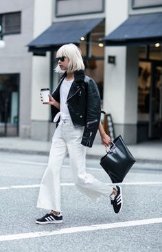 10 Approachable Outfits That Are Anything But Basic via @WhoWhatWear