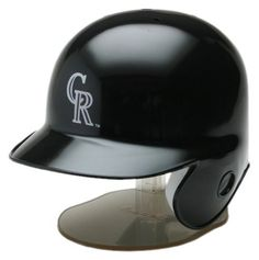 MLB Colorado Rockies Replica Mini Baseball Batting Helmet by Riddell. $11.99. The Riddell MLB Replica Mini Helmet is a half-scale version of your favorite team helmet. Ideal for autographs, it comes in official team colors and logos and includes a display stand.