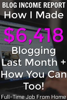 Learn How I Made Over $6,000 In August Blogging! I'll show you exactly where my income came from and how you can make money blogging too! Online Income, Earn Money Online, Make Money Blogging, How To Make Money, Earning Money, Email Marketing Strategy, Affiliate Marketing, Internet Marketing, Work From Home Moms