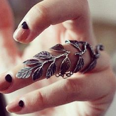 branching ring Sexy Girl Jewlery