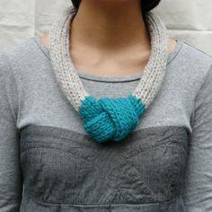 Knot necklace by vvonder | Project | Knitting | Kollabora