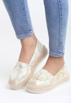 Espadrile dama Quesada Bej Espadrilles, Slippers, Slip On, Flats, Sneakers, Mall, Shoes, Style, Fashion