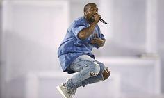 Kanye … Setting himself a high bar,