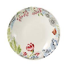Gien France Flora Rimmed Soup Bowl   Bloomingdale's