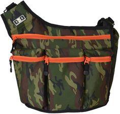 Diaper Dude Original Diaper Bag - Camouflage #diaper #bag #dude #dad #man #camo #camoflauge #baby #shower #gift #orange #male #sale
