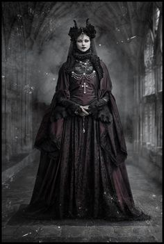 goetia_girls_lilith's_harem_countess_elizabeth_bathory_vampire_succubus_art_muse_of_faustus_crow