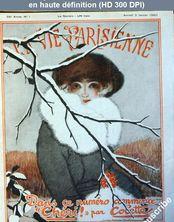 LA VIE PARISIENNE  January 3, 1920  numéro 1 du 03 janvier 1920