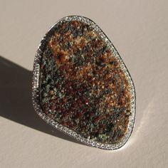 Handmade sterling silver ring with garnet gemstone by AntJewellery https://www.etsy.com/listing/157850227/handmade-sterling-silver-ring-with?ref=shop_home_active_13