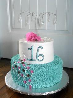 16th Birthday cake for twins Bernie Bakes Pinterest 16th