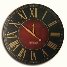 Marseille Wall Clock | The Big Clock StoreThe Big Clock Store