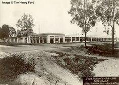 1932: Planta Ford de la Villa de Guadalupe; actuales calles de Henry Ford y Calzada de Guadalupe.