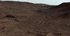 Photo of area below Mount Sharp on Mars' surface from NASA's Mars Rover Curiosity. New Research Says Mars Was Cold and Icy, Not Warm and Wet http://www.visiontimes.com/2015/06/23/new-research-says-mars-was-cold-and-icy-not-warm-and-wet.html