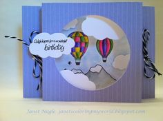 Up, Up and Away by bizzy32765 - Cards and Paper Crafts at Splitcoaststampers