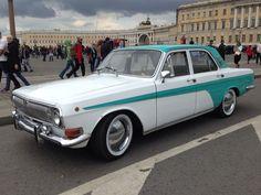 ГАЗ 24 красотка ГАЗ 24, ретромашины, руль из цепи, длиннопост