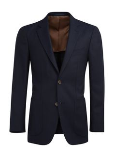 This handsome navy Havana jacket is cut from pure wool by the Italian mill,  Reda. Tailored to our slim fit, this versatile jacket features notch  lapels, ... 2eb0b1605e