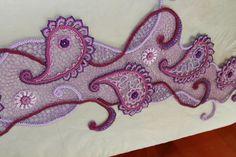 Картинка Crochet Paisley, Paisley Pattern, Irish Lace, Tatting, Tutorials, Embroidery, Flowers, Crochet Stitches, Bead Embroidery Patterns