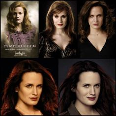 Esme Cullen though out the Twilight Saga - much like the movies, her gets progressively better