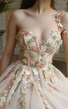 A Line Prom Dresses, Quinceanera Dresses, Ball Dresses, Ball Gowns, Evening Dresses, Wedding Dresses, Dress Prom, Xv Dresses, Floral Prom Dresses