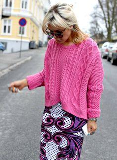 pink & purples