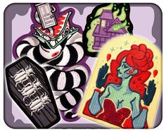 Shy: Beetlejuice PATCHES by CoeyAndShy on Etsy