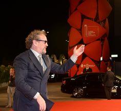 """L'attore Colm Meaney sul red carpet della 73. Mostra del Cinema di Venezia in occasione dell'anteprima del film """"Il Viaggio (The Journey)"""" © La Biennale foto ASAC"""