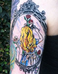 alive in wonderland tattoo