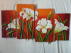 Love Canvas Painting, Multiple Canvas Paintings, Summer Painting, Paintings I Love, Canvas Wall Art, Sculpture Painting, Mural Painting, Mural Art, Canvas Art Projects