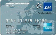 SAS Eurobonus Classic American Express Card er et meget bra kort hvis du liker å reise. Du for 10 Eurobonus Ekstrapoeng for hver 100 kr brukt med kortet og en rekke gode reisefordeler.. Nå får du og 3000 eurobonus ekstrapoeng i i velkomstgave når du bestiller kortet. Map, American, Classic, Cards, Voyage, Classic Books, Playing Cards, Maps