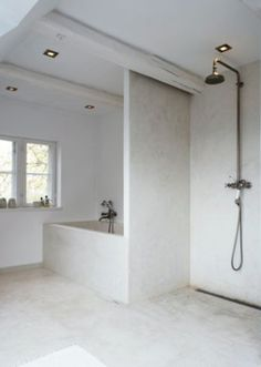 From the Danish magazine site- BO BEDRE A whole new sleek look for a #wetroom