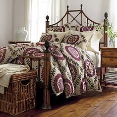 On clearance - would match bedroom - with shams too Bukhara Duvet Cover/Comforter Cover and Sham   The Company Store