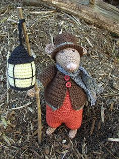 Image result for dickens mouse crochet pattern