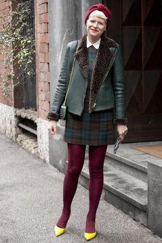 Milan Fashion Week Street Style Fall 2013: Elisa Nalin