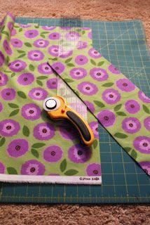 Bright Green Door Blog: 3 Hour Rag Quilt Tutorial