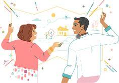 Hosts illustrated Face Illustration, People Illustration, Character Illustration, Watercolor Illustration, Digital Illustration, App Design, Branding Design, Flat Design, Airbnb Design