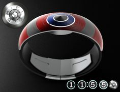 This Captain America Inspired Shield Watch is Ultra Cool