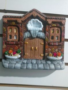 Ceramic Bisque, Ceramic Clay, Dry Clay, Miniature Houses, Bottle Crafts, Clay Art, Gingerbread, Polymer Clay, Miniatures