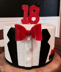 Tuxedo cake, man cake