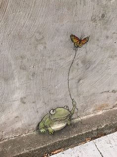Whenever she goes out, Betty likes to bring along a friend. Or a snack. It all depends on how hungry she gets. David Zinn 2017. Belle Isle Nature Center, Richmond, Virginia