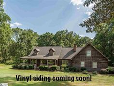 2 acres in sought after Blue Ridge School district.  These owners have contracted to install vinyl siding in the next few weeks. Large kitchen with work island and tons of counter space  The living room features a wood burning fireplace and stacked stone hearth.  The master suite is on the main level with a full bath. 2 bedrooms and bath upstairs with a HUGE bonus room that would make a great 4th bedroom.The roof is only 3 years old. Home warranty provided by the seller for the buyer