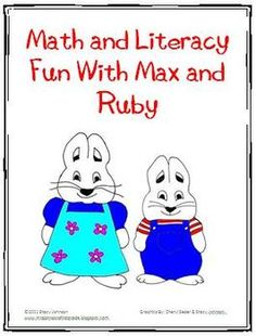 It is so hard to find Max and Ruby activities to go with our Rosemary Wells Author Study so I made this myself and am offering it to you free.It ...