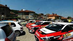 Another Rally-sprint in Bulgaria. / Two car crashes /