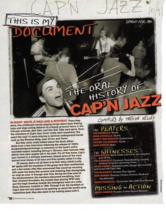 Oral history of cap'n jazz
