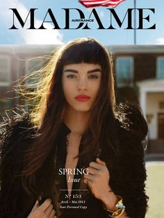 Air France Madame April May 2013 Brittany Bergmeister by Frances Tulk-Hart
