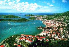 Charlotte Amalie, St. Thomas, US Virgin Islands  This will get crossed off the Bucket List in July!