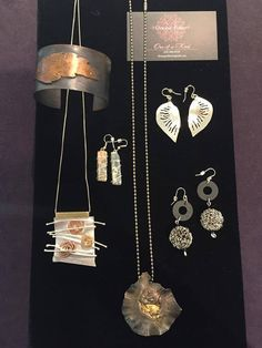 One-of-a-Kind Jewelry; Donna Polier:       Check out this collection of One-of-a-Kind jewelry by Donna Polier, made from silver and metal clay. Add some of these pieces to your wardrobe today when you visit the Fuller Craft Museum Shop!