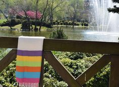 Rainbow Striped Turkish Towel Turkish Bath Towel Turkish