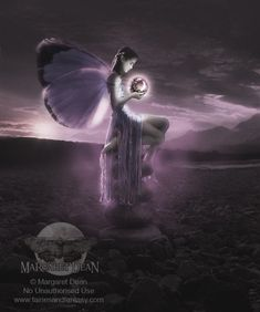 Fairy Art- Stealing the Moon