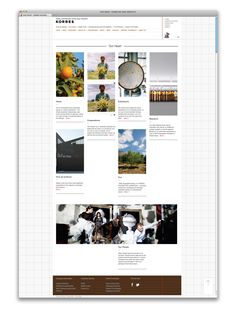 KORRES / Website
