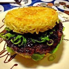 burger - Ramen Burger